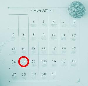 menstruationscyklus dage
